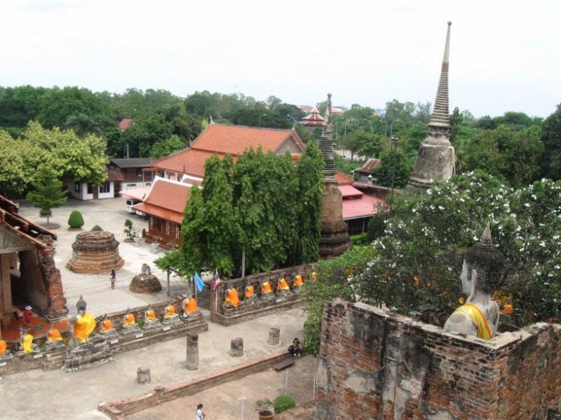 Königsstadt Ayutthaya (Thailand)