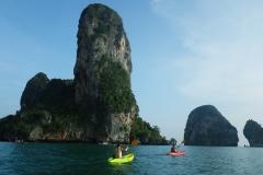 Kayak-Fahren bei Ao Nang