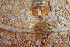 Diamanten an der Spitze der Pagode