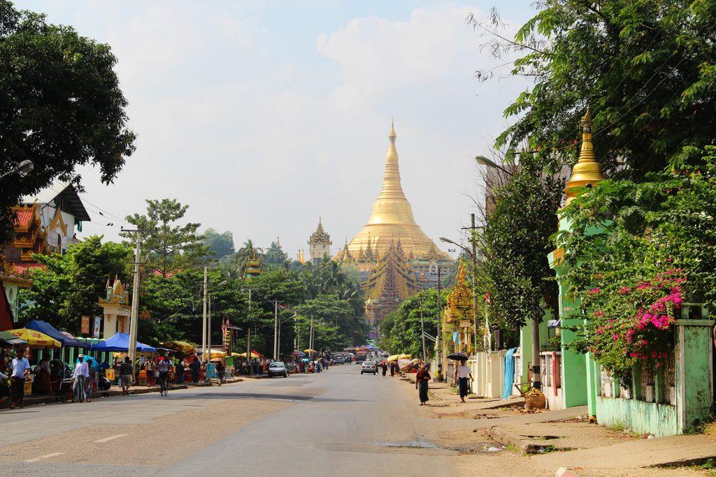 Shewdagon Pagode, Yangon